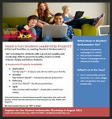 Register as a Student Ambassador