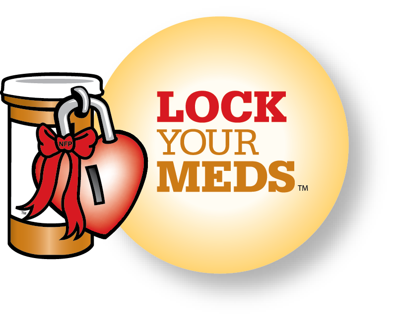 Lock Your Meds Logo
