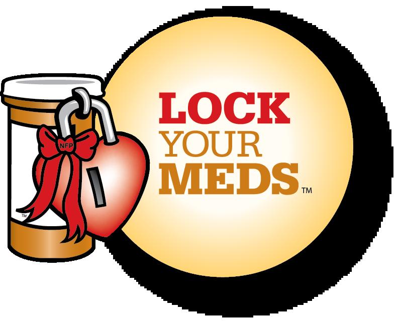 Lock Your Meds Logo