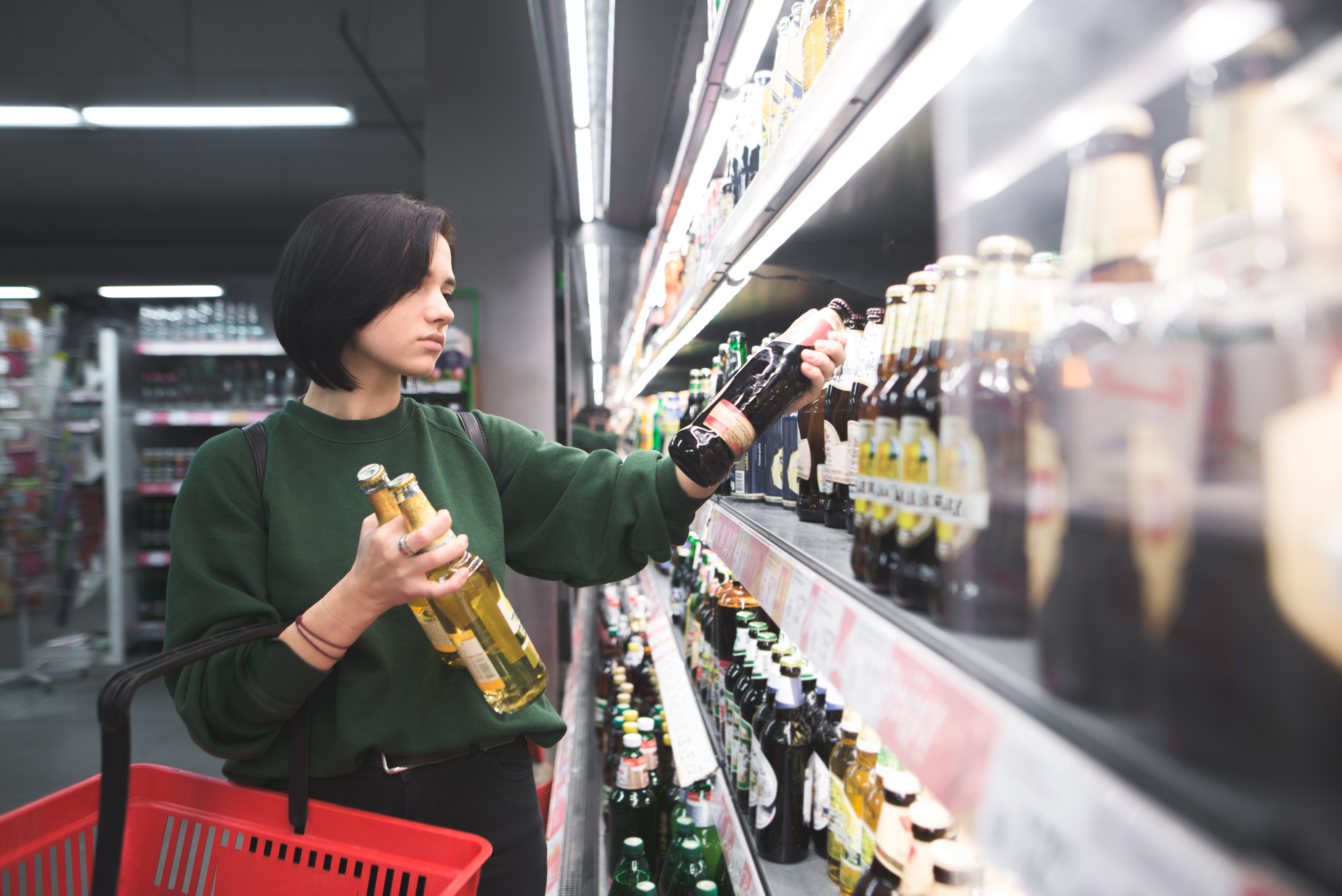 Drinking at the grocery store or retail shops is a trend at big-name retailers like Nordstrom, Whole Foods, and Crate & Barrel