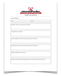 download the teacher lesson plan template