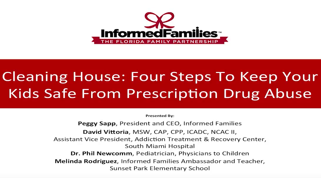 Cleaning House: Four Steps To Keep Your Kids Safe From Prescription Drug Abuse