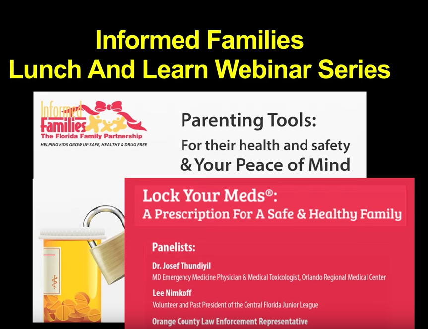 Lock Your Meds®: A Prescription For A Safe & Healthy Family