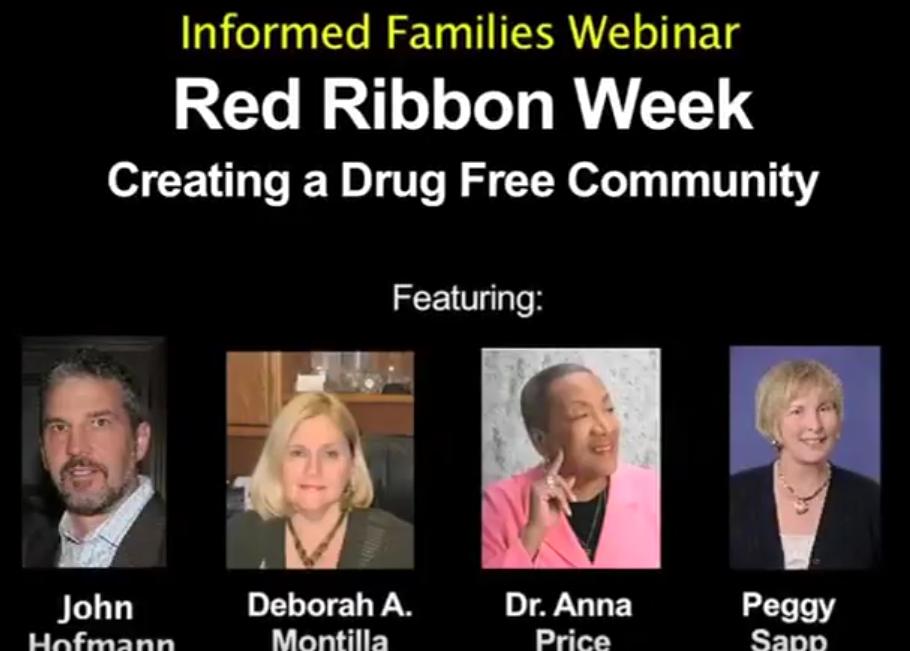 Red Ribbon Week: Creating a Drug Free Community