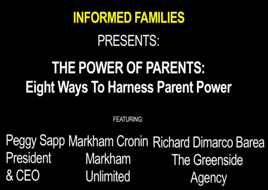 The Power of Parents Webinar March 2014