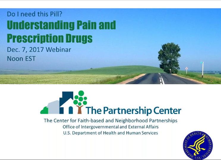 Do I Need This Pill? Opioids, Pain & Addiction
